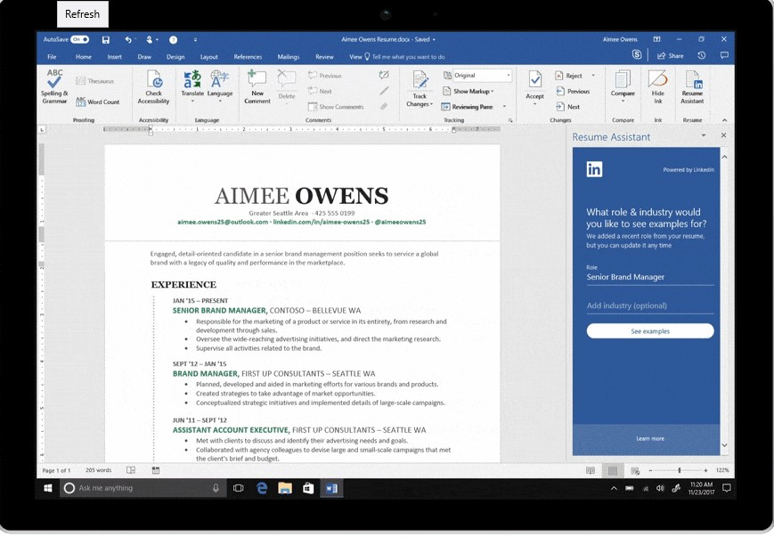 Make Resume More Effective With MS Word Resume Assistant