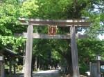 高麗神社の鳥居