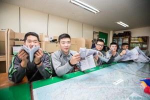 兵舎で一緒に暮らす仲間たち(写真/韓国陸軍公式サイトより)