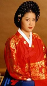 ドラマ『王妃チャン・ノクス~宮廷の陰謀~』で張緑水(チャン・ノクス)を演じていたパク・チヨン