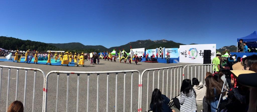 昨年の地上軍フェスティバルの風景