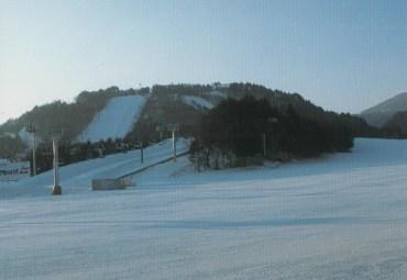 オリンピックが開催される平昌のスキー場