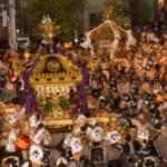 くらやみ祭2017屋台の時間や交通規制!新しい神輿のルートは?