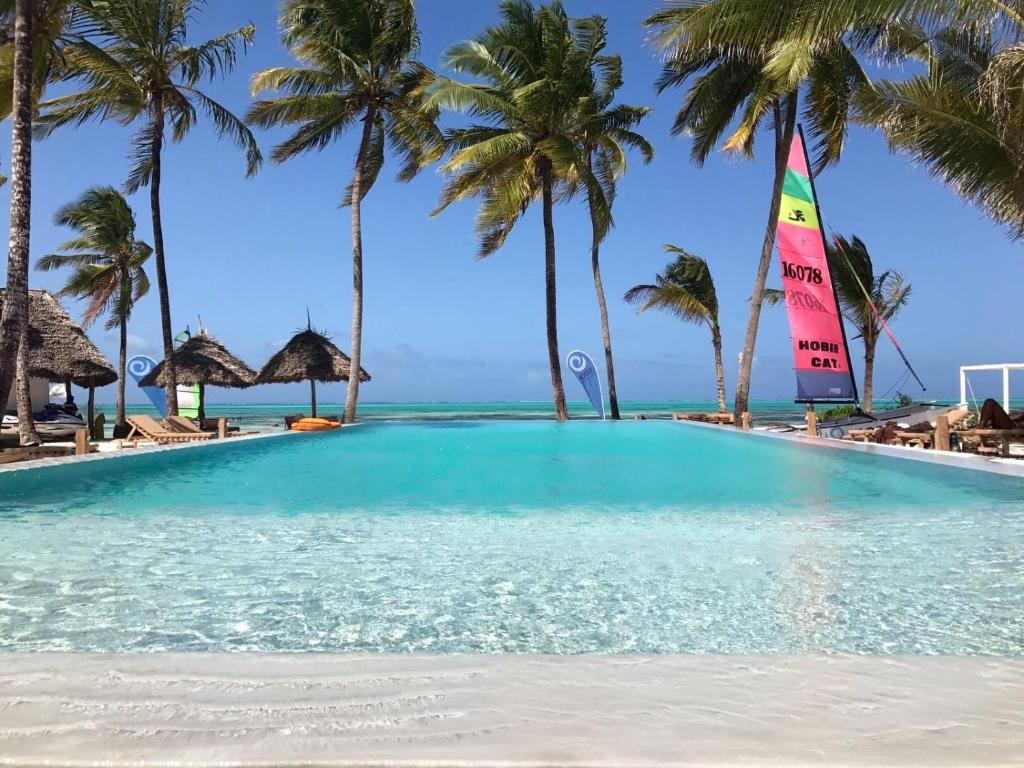Prive Zwembad Zanzibar The Loop Beach Resort Tanzania Jambiani Booking