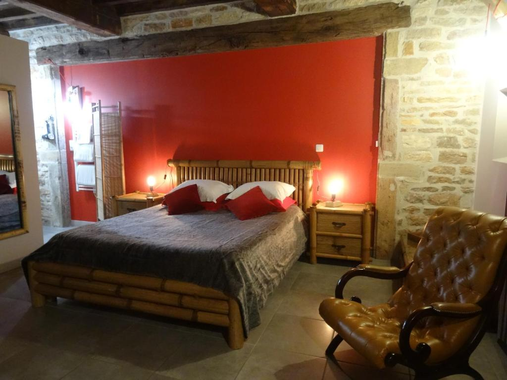 Chambre Dhote Jura Bed And Breakfast Chambres D Hôtes Marfontaine Montbellet France