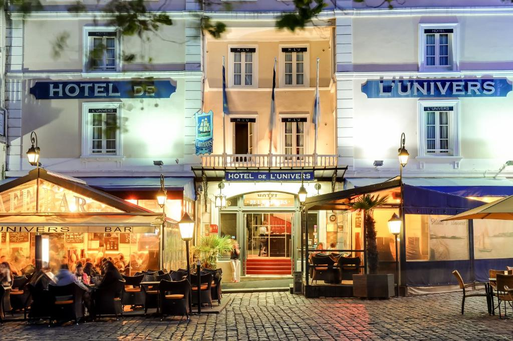 B And B Saint Malo Hotel De L'univers (france Saint-malo) - Booking.com