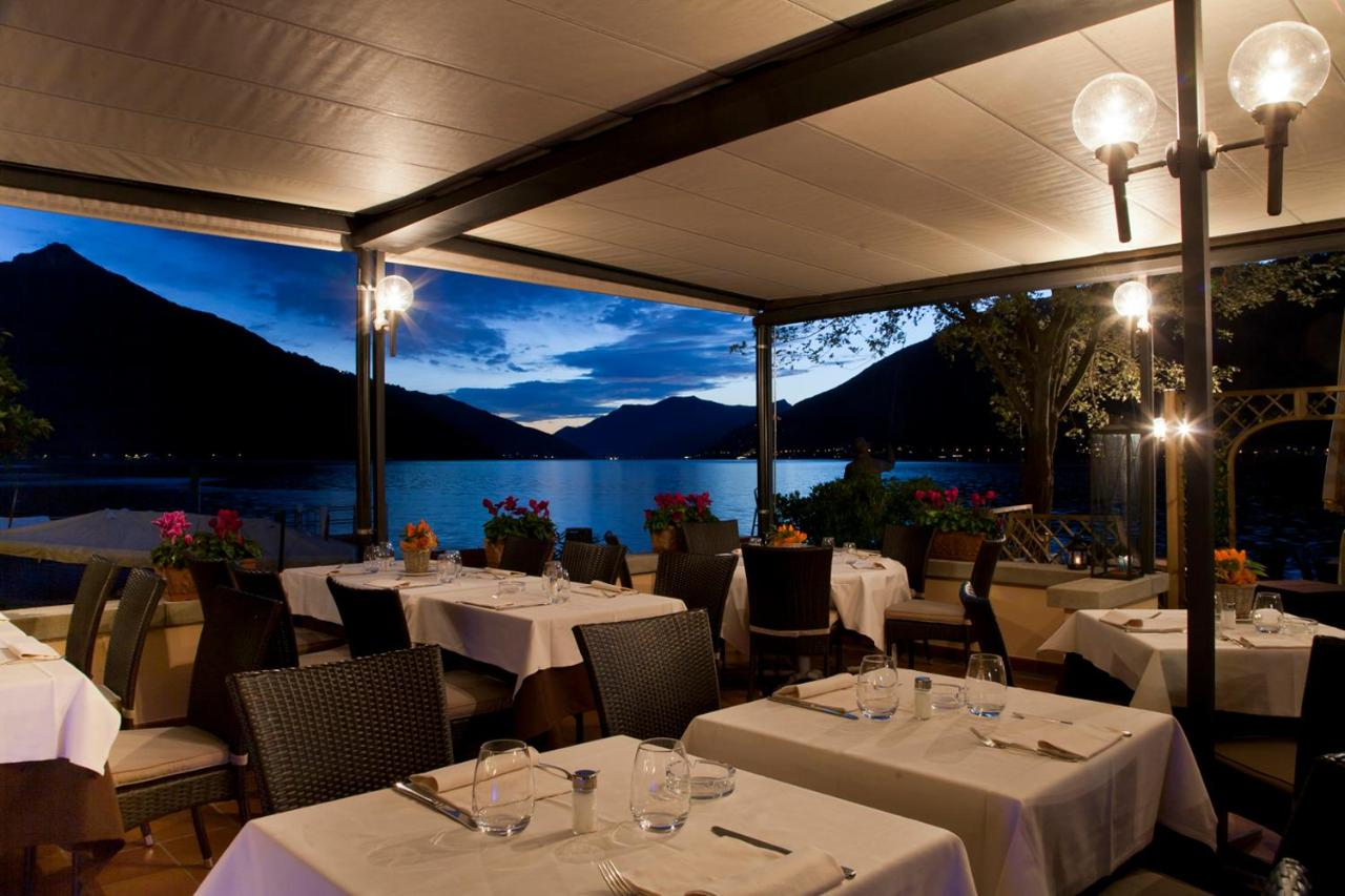 Arte Restaurant Lugano Albergo Ristorante Palma Bissone Switzerland Booking