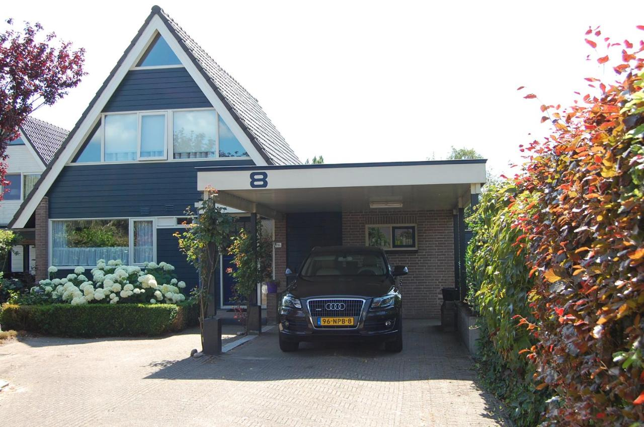 Carport Groningen Vacation Home 8 Langebaen Sneek Uitwellingerga Netherlands