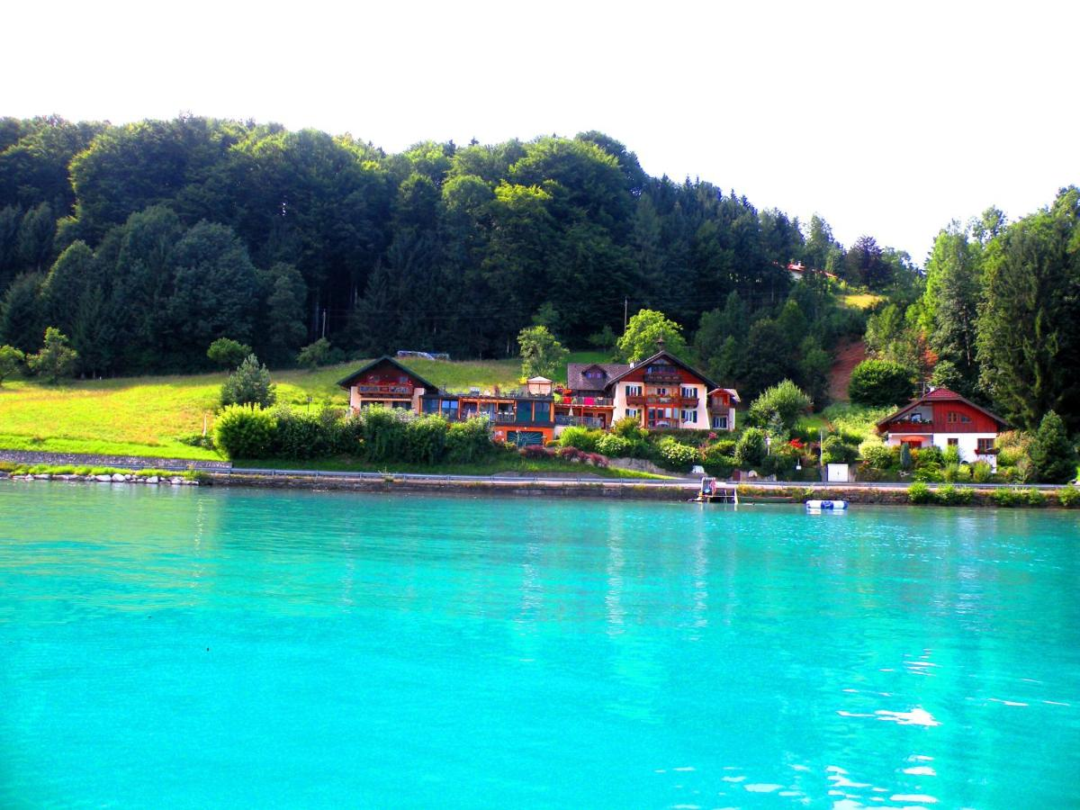 Pool Im Garten Hygiene Apartment Loindl Unterach Am Attersee Austria Booking