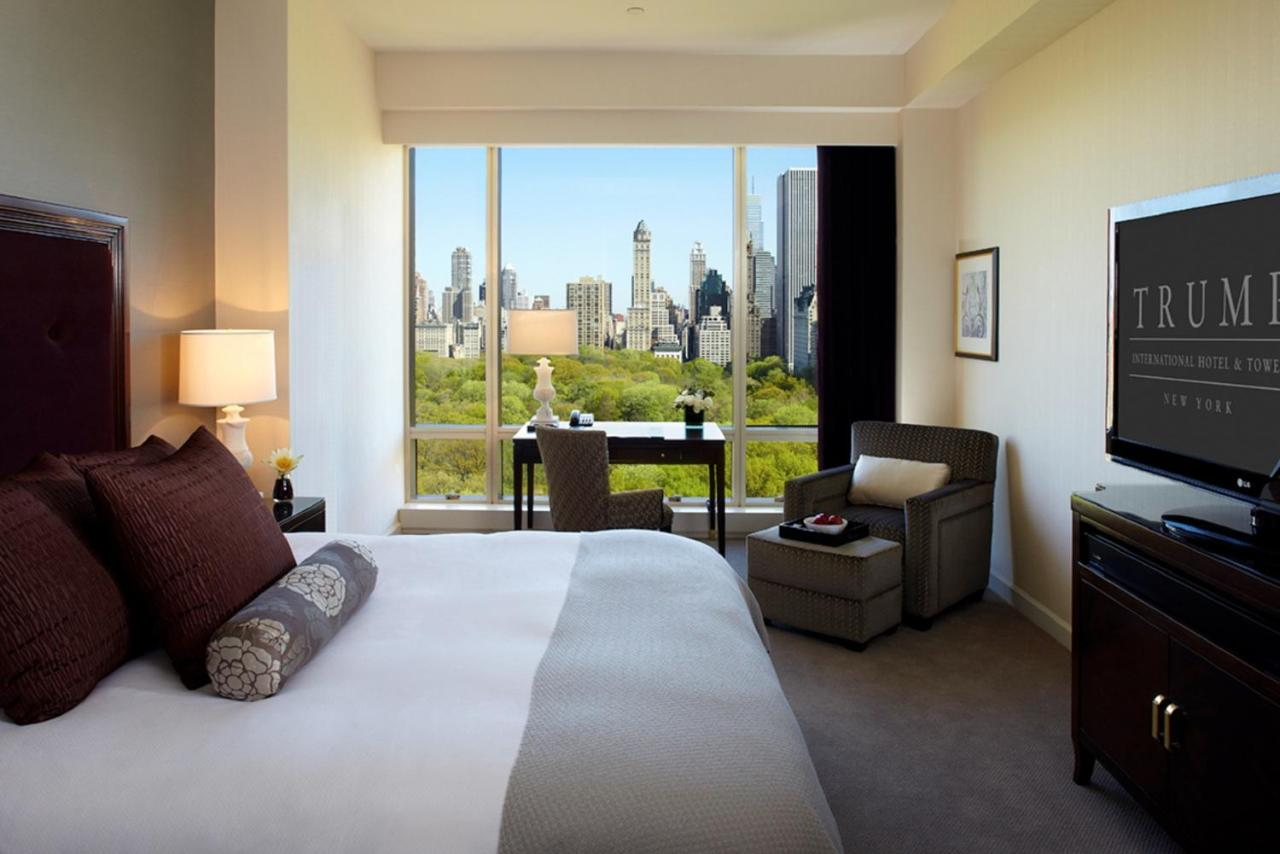 70 Jahre Wohnzimmer Hotel Trump Int L New York Usa New York Booking