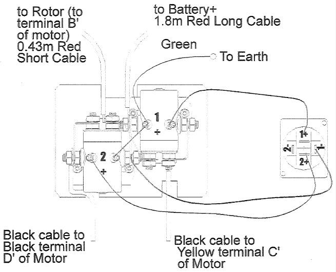 12 Volt Winch Wiring Diagram circuit diagram template