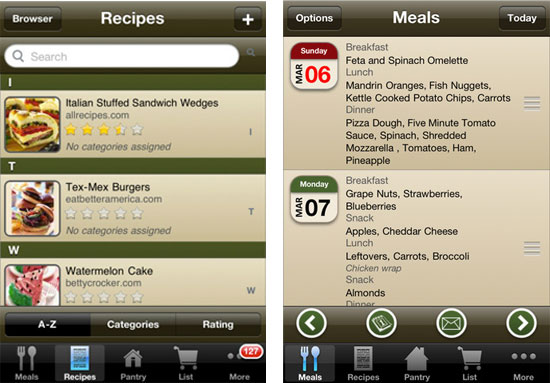 Meal Planning and Recipe Apps Cooking made easy with these websites