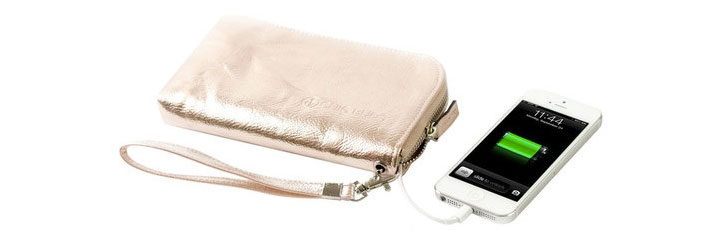Chic Buds Clutchette Power Charging Bag