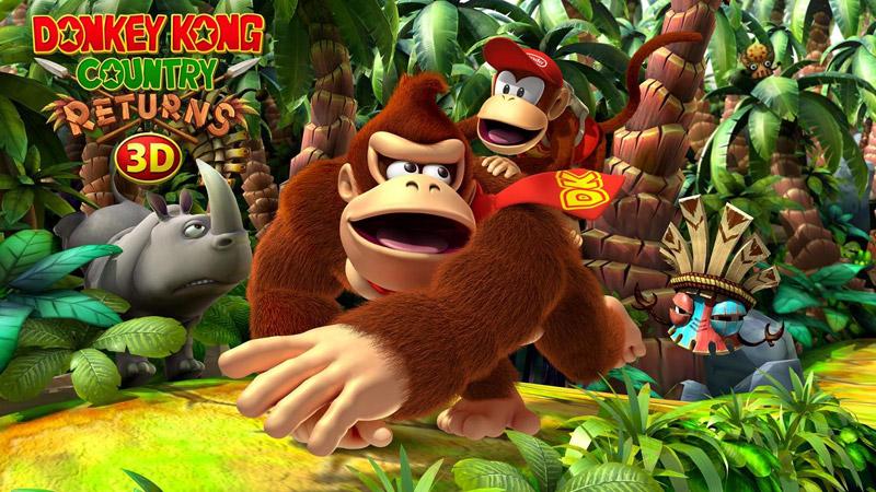 Donkey Kong Returns 3D