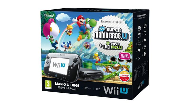 Wii U Mario & Luigi Premium Pack