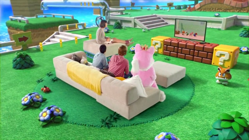 Super Mario 3D World - Play Together