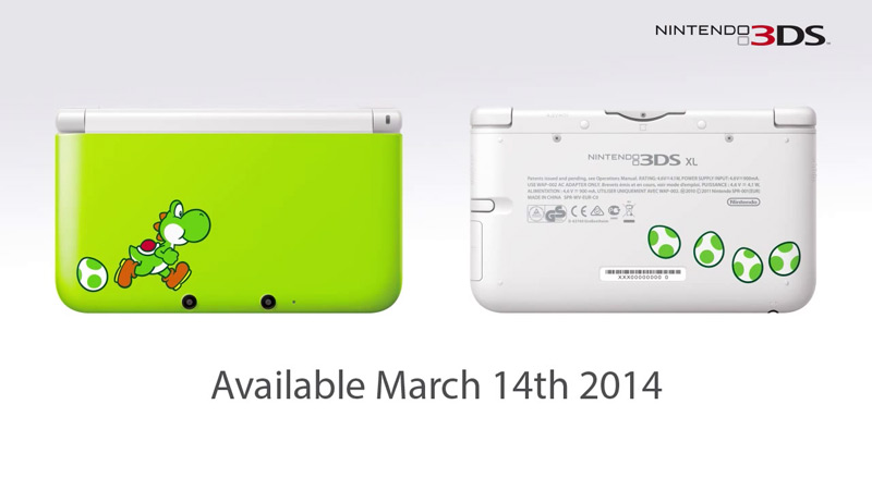 3DS XL Yoshi Special Edition