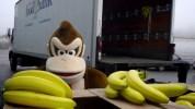 Wii U『ドンキーコング トロピカルフリーズ』、任天堂カナダが行った「バナナマニアコンテスト」の撮影風景