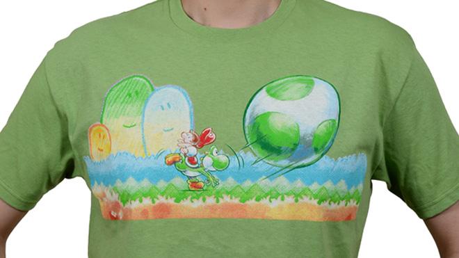 Yoshi's New Island T-shirt