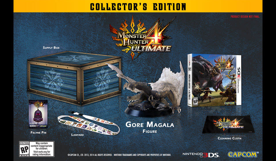 Monster Hunter 4 Ultimate - Collector's Edition