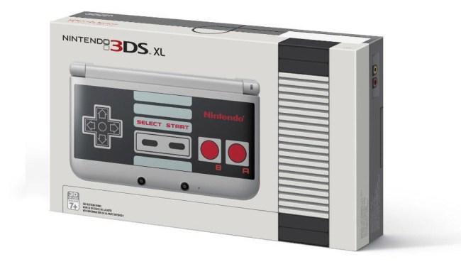 Nintendo 3DS XL - NES Edition