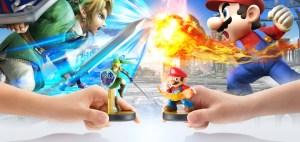 大乱闘スマッシュブラザーズ for Wii U - amiibo リンク vs. マリオ