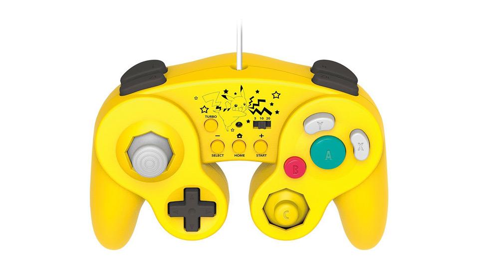 ホリ クラシックコントローラー for Wii U/Wii ピカチュウ