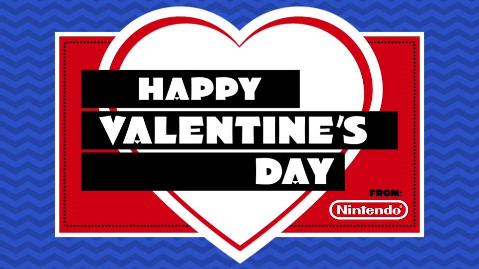 Happy Valentine's Day! from Nintendo