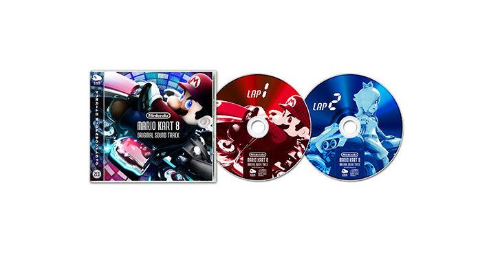 マリオカート8 サウンドトラックCD(2枚組)