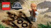 映画の名場面も盛り込まれた『LEGO Jurassic World』の海外版ゲームトレーラー