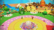 WiiU『ヨッシーウールワールド』、触りたくなるような質感のワールドマップやヨッシーの変身など新たなスクリーンショット