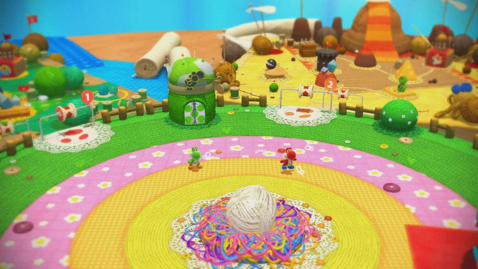 ヨッシーウールワールド(Yoshi's Woolly World)