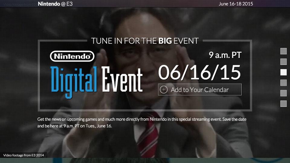 Nintendo @ E3 2015