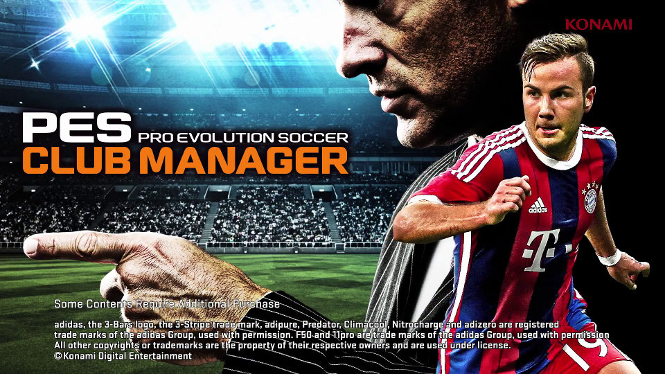PES Club Manager
