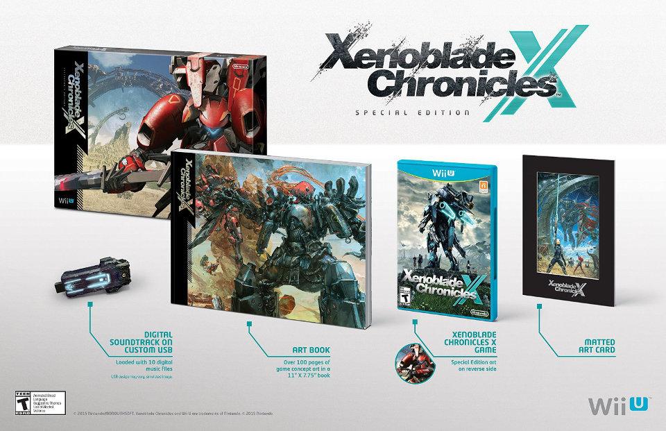 Xenoblade Chronicles X Special Edition