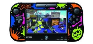 シリコンカバーコレクション for Wii U GamePad スプラトゥーン Type-B