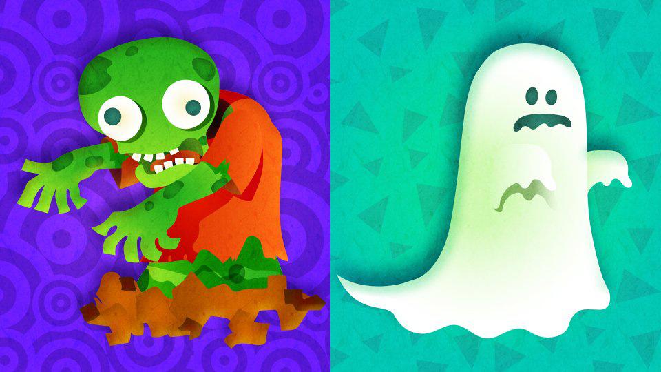 SplatFest - Zombies vs Ghosts
