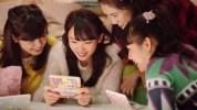 4人で楽しむ、3DS『どうぶつの森 HHD』『リズム天国 ザ・ベスト+』のクリスマスCM