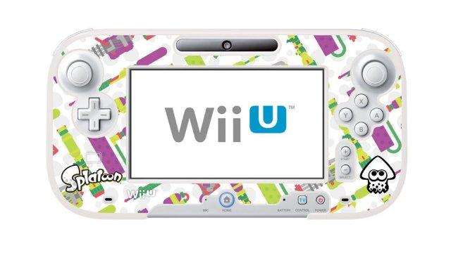 イカしたプロテクトケース for Wii U GamePad