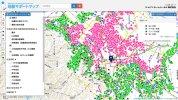「地盤サポートマップ」、住んでいる街や気になる住所の地盤の安全性を、簡単に調べることができるサービス