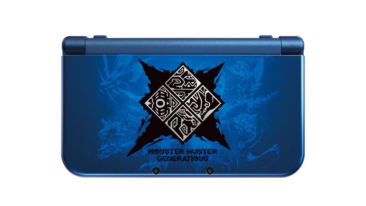 Nintendo New 3DS XL - Monster Hunter Generations Edition