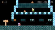 WiiU『スーパーマリオメーカー』のキャラマリオ、『アイスクライマー』からポポとナナの2人が揃って追加
