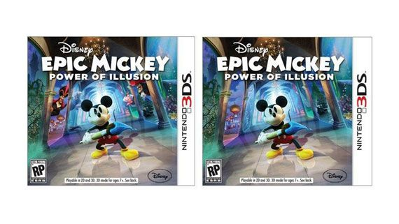 3DS Disney Epic Mickey: Power of Illusion