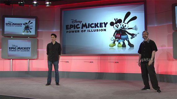 "E3 2012 Nintendo 3DS Software Showcase ""Epic Mickey: Power of Illusion"""