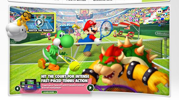 3DS Mario Tennis Open North America Official Site