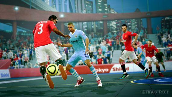 もう1つのFIFA。『FIFA Street』の新着スクリーンショット