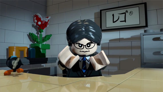 LEGO Iwata from Nintendo Direct