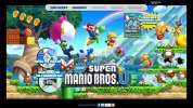 Wii U発売が迫る北米地域、米任天堂が『New スーパーマリオブラザーズ U』『Nintendo Land』『SiNG Party』らの公式サイトをフルオープン