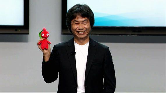 Shigeru Miyamoto E3 2012