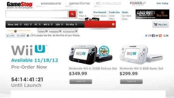 Wii U Pre-Order